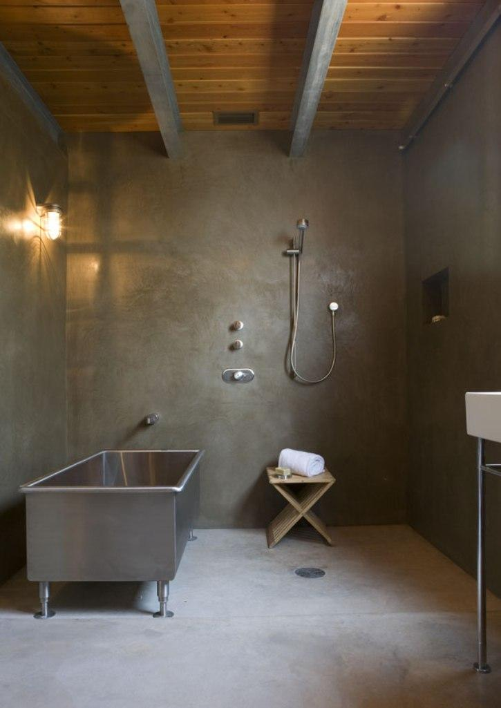 Badkamer Stoer En Sober 15 Bold Bathroom Designs With Concrete Walls - Rilane