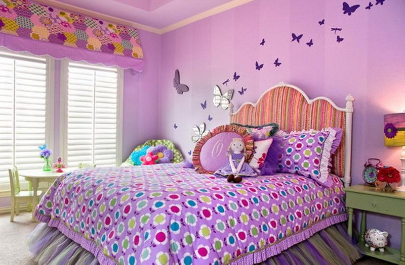 3d Wallpaper Decorating Ideas 15 Charming Butterfly Themed Girl S Bedroom Ideas Rilane
