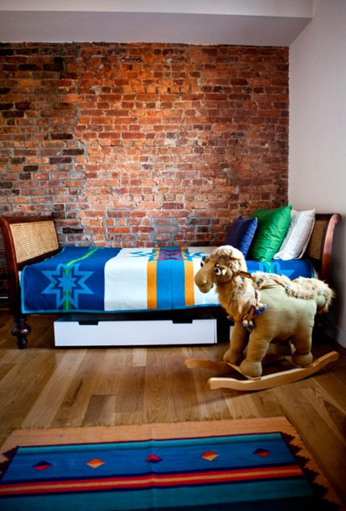 Boy Bedroom Designs 15 Amazing Kid's Bedroom Designs With Exposed Brick Walls