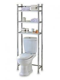 10 Useful Over the Toilet Storage - Rilane