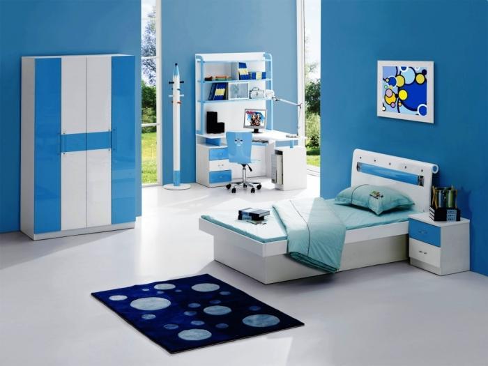 20 Cool Blue Kids Bedroom Rilane