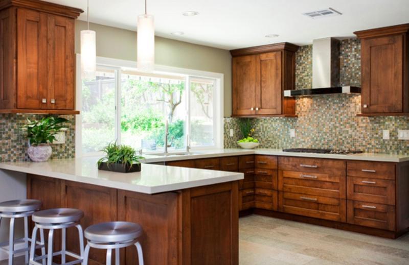 20 Functional U- Shaped Kitchen Design Ideas - Rilane - u shaped kitchen design