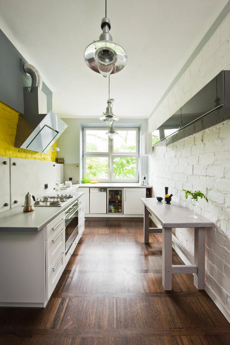 contemporary kitchen designs brick backsplash rilane elegant brick backsplash kitchen presented soft colors