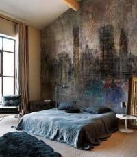 Bedroom Wall Murals in 25 Aesthetic Bedroom Designs