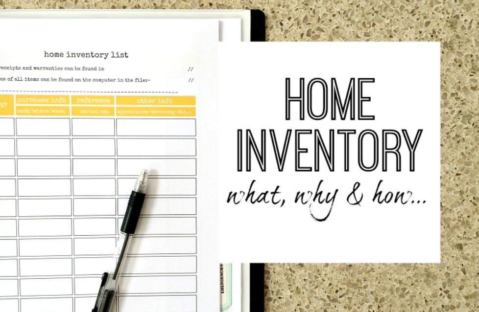 Importance of Good Home Inventory - Riles and Allen Insurance