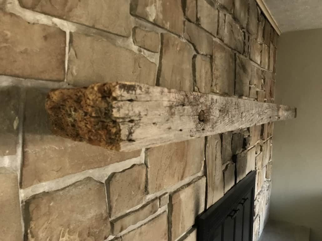 Fireplace Beam Mantel Rustic Fireplace Beam Mantel Coventry Ohio Riley Home Remodel