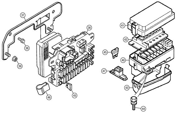 mgf wiring diagram