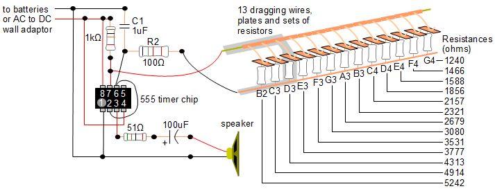 Timer Chip Circuit car block wiring diagram