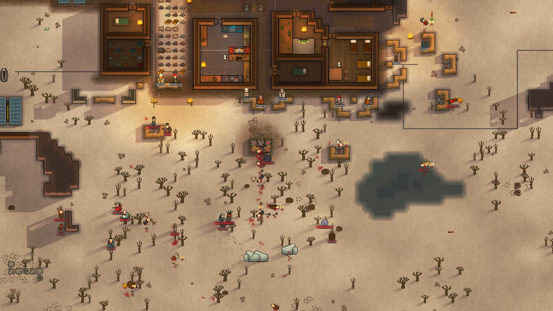 Free Winter Animal Wallpaper Rimworld Sci Fi Kolonie Simulation