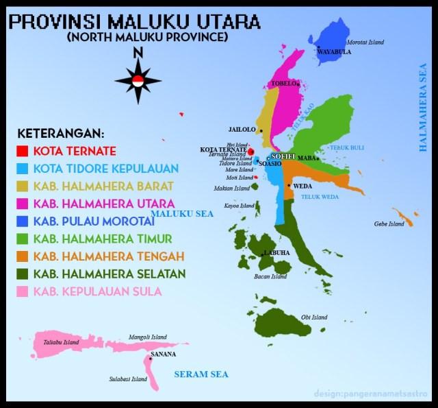 Info Cpns Maluku Utara 2013 Lowongan Kerja Indosat Agustus 2016 Terbaru Info Cpns Peta Provinsi Maluku Utara Kabupaten Halmahera Selatan Adalah Bagian