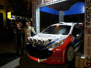 Noriego se lleva la victoria del 46° Rallye de la Vendimia