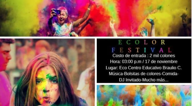 Rincón Cultural: Ecolor Festival