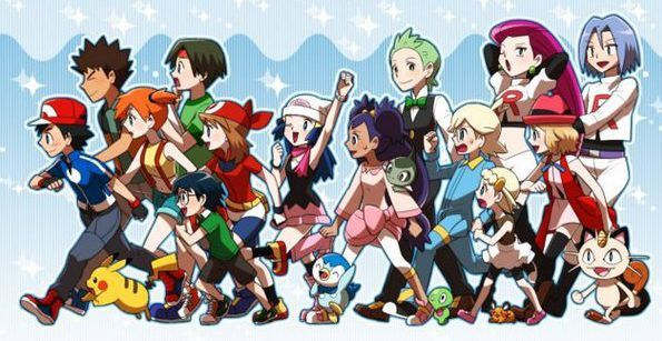 Amigos pokemon
