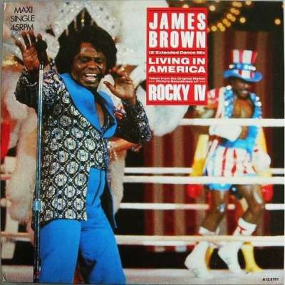 Living in america by James Brown, 12inch with supermix ...