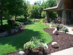 Brown Landscape Mulch