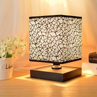 Hhome Plus Simple Modern Table Lamp Bedside Desk Lamp with ...