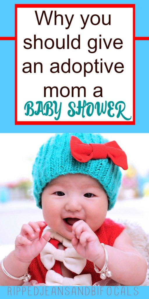 Why you should give an adoptive mom a baby shower - Ripped Jeans