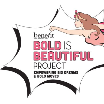 Benefit\u0027s Bold is Beautiful Project brow raising money for charity - bold project