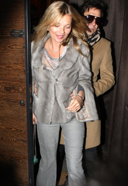 Kate Moss Photo Rex Kate Moss seem leaving the Umu restaurant in Mayfair with Jamie Hince x