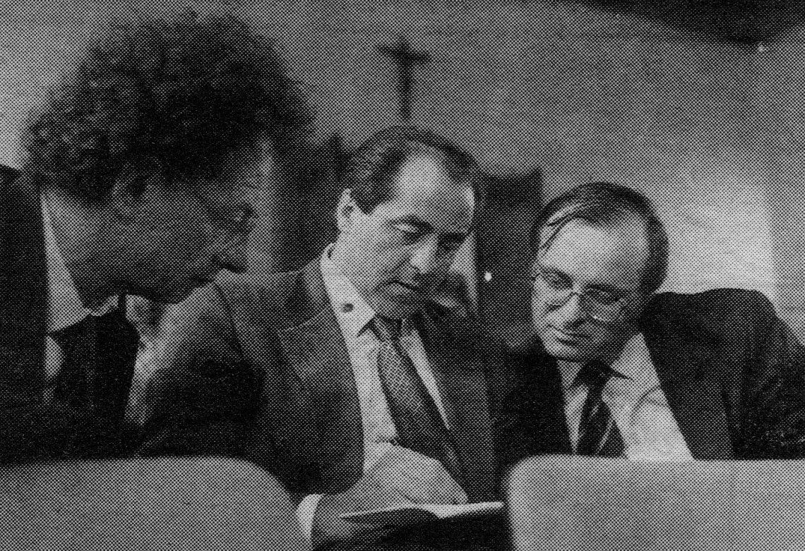 Colombo, Di Pietro e Davigo em 1994.