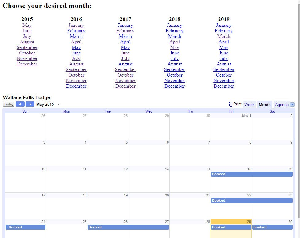 Google Calendar Embed Iframe in Full Year View Script - Rise of the Web