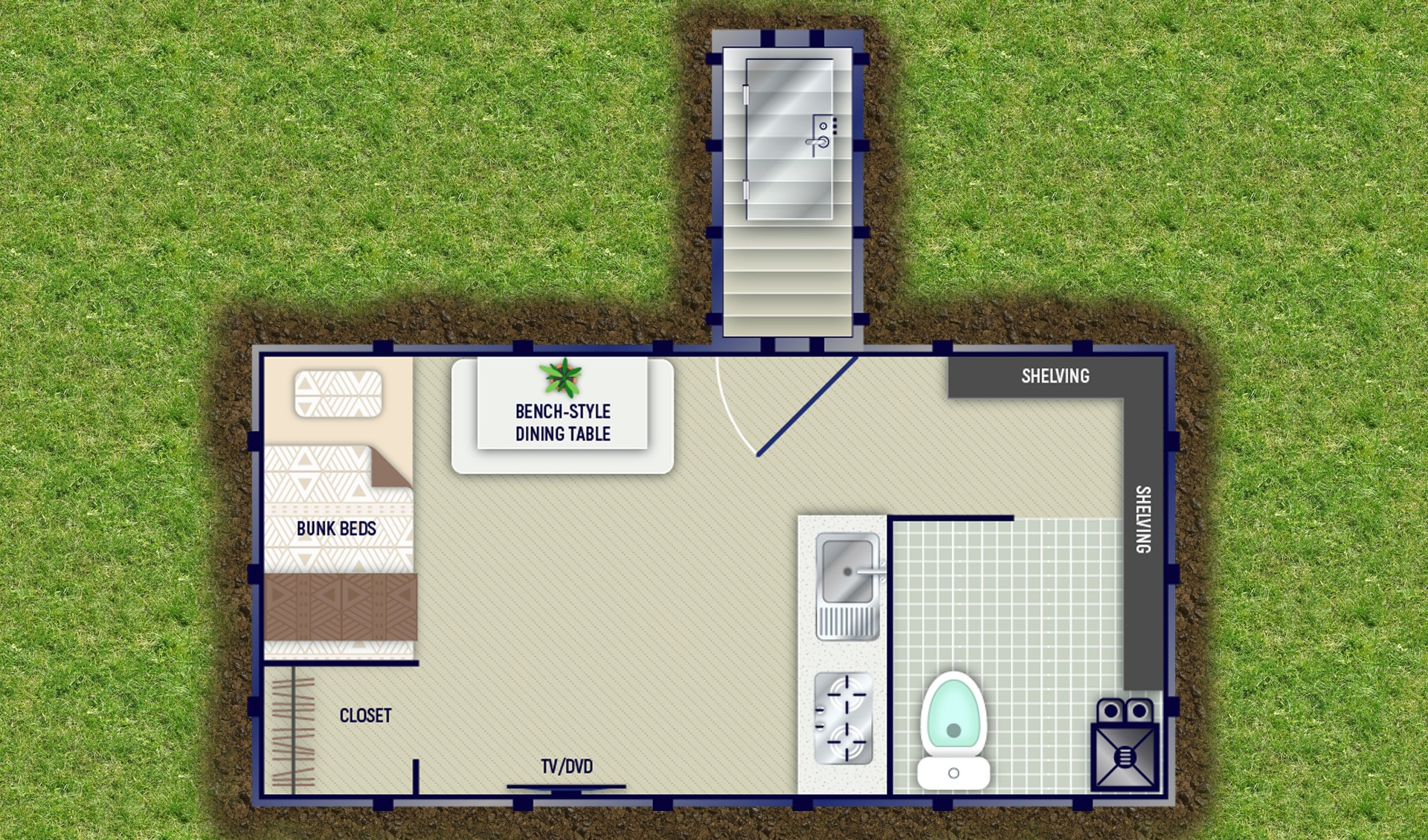 10x10 Kitchen Floor Plans Bomb Shelters Pricing And Floor Plans Rising S Company