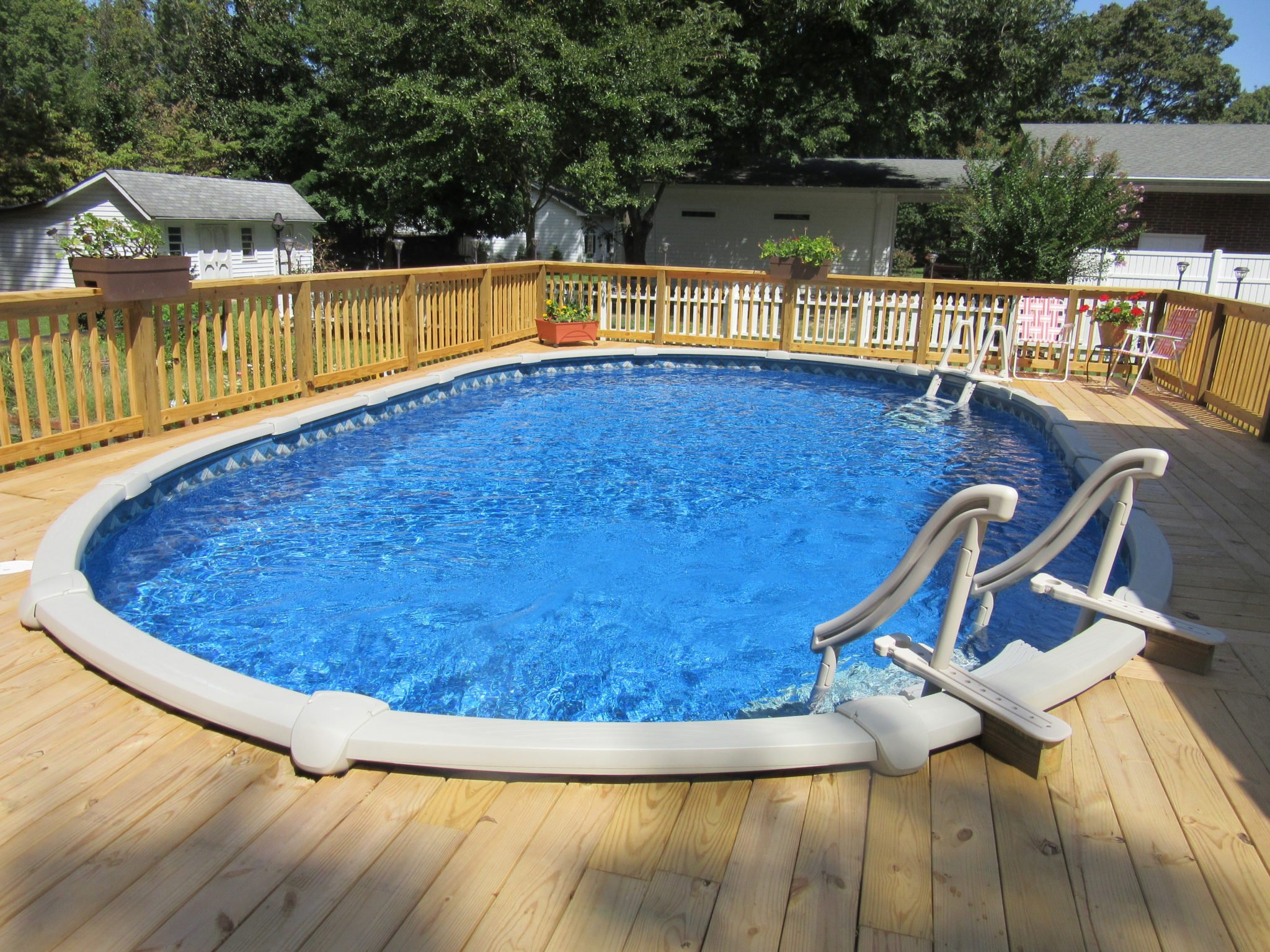 Jacuzzi Oval Pool Rising Sun Pools And Spas Aboveground Pools Raleigh 39s
