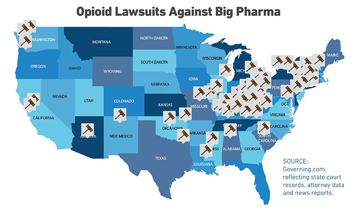 Opioids Give Rise to Liability Epidemic  Risk  Insurance