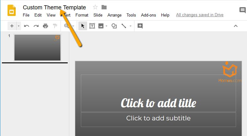 How to Create and Customize a Free Theme in Google Slides