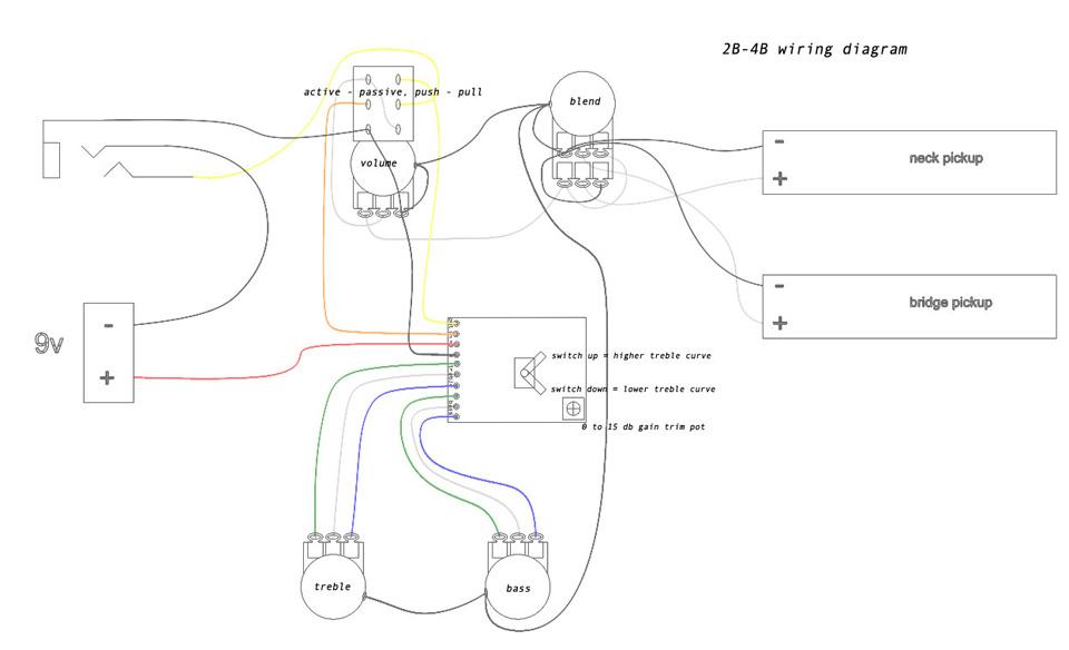 B Wiring Diagram Push Pull Electrical Circuit Electrical Wiring
