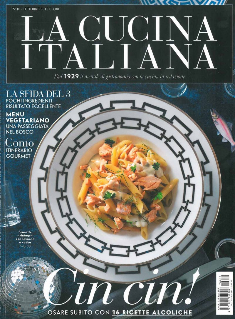 La Cucina Italiana Luglio 2018 Press All The Articles About The Starred Chef Andrea Berton