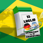 Germania campione del Mondo, ai supplementari: 1 – 0 sull'Argentina