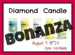 Diamond Canlde Bonanza Giveaway Event  Ends August 24, 2012
