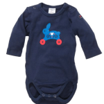 Rolling Rabbit Newborn Bodysuit