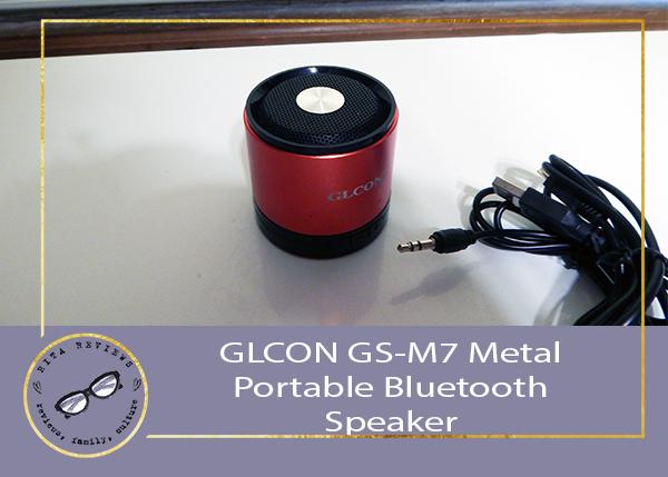GLCON GS-M7 Metal Portable Bluetooth Speaker