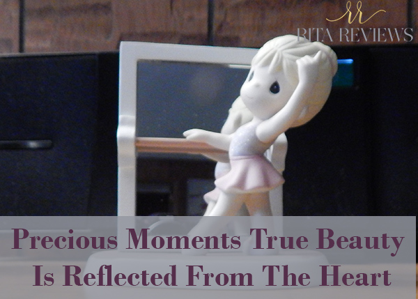 Precious Moments True Beauty Is Reflected From The Heart