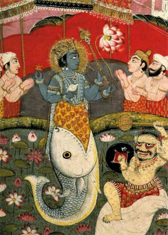 matasya avatar dashavtar lord vishnu indian mythology Dashavatar pictures   Indian mythology (1)