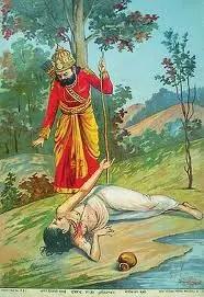 Dashrath and Shravan Kumar