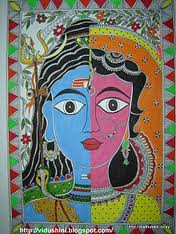 Ardhnarishwar - Shiva's form