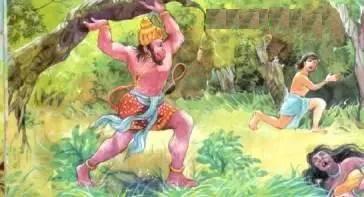 http://i0.wp.com/ritsin.com/wp-content/uploads/2012/12/hanuman-uprooting-trees-ashok-vatika-sunder-kand.jpg