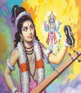 Narada and Lord Vishnu