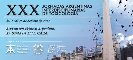 XXX Jornadas Argentinas Interdisciplinarias de Toxicología