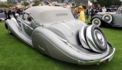 1935 HORCH 835 Cabriolet