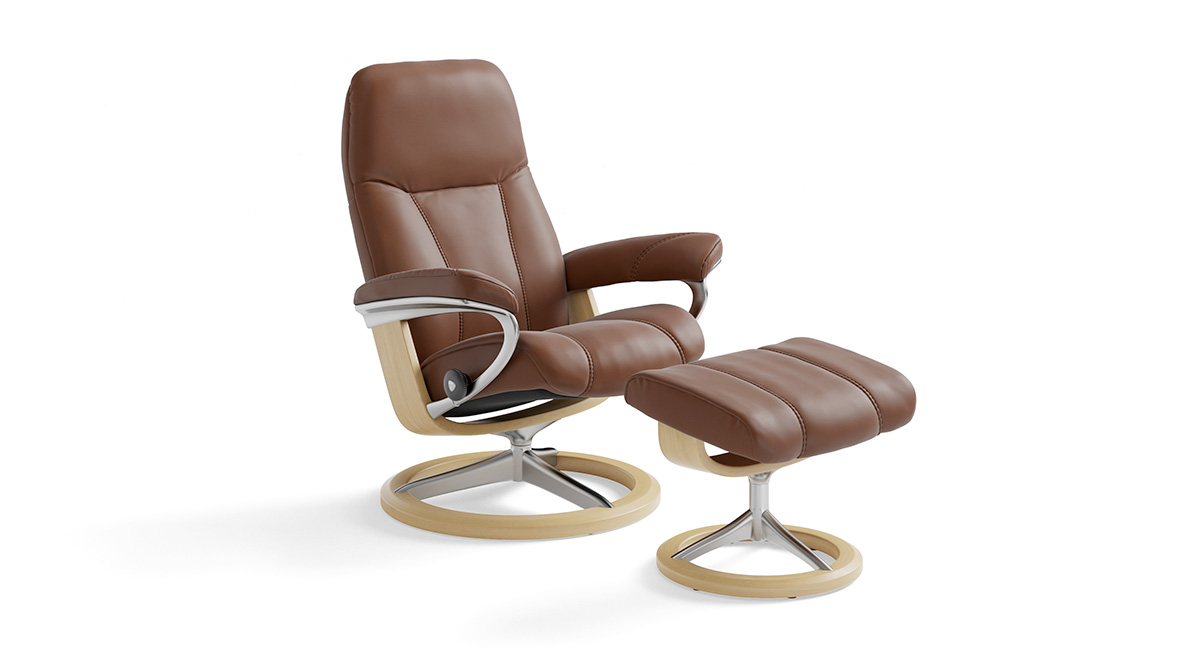 Stressless Consul L Armchairs By Ekornes Riva Mobili