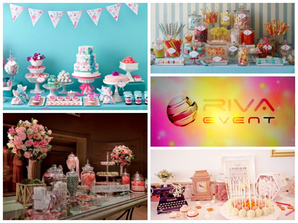 Decoration Gourmandise Candy Bar Sweet Table Gourmandise Decoration Animation