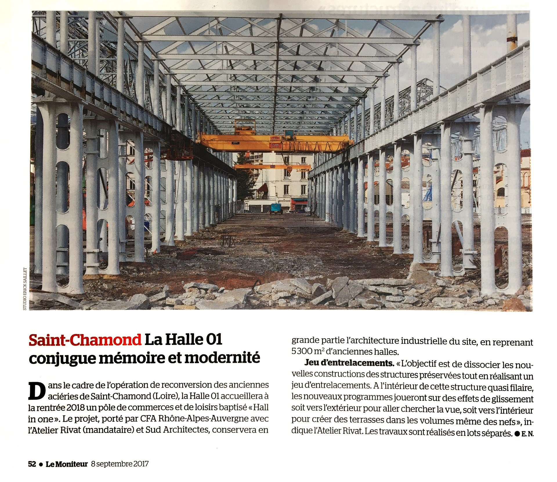 Reconversion Architecte Nouvel Article Sur La Reconversion Des Anciennes Aciéries De Saint