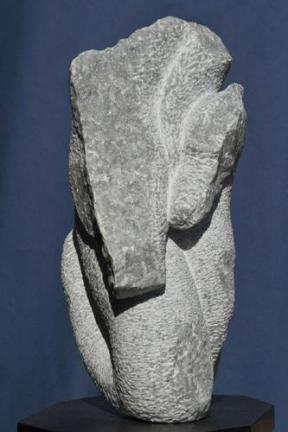 Hippocampe - cheval de mer - poisson - sculpture de Dominique Rivaux