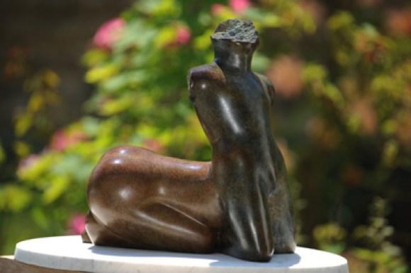 sculpture de centaure mythologique - Dominique Rivaux