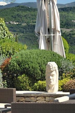 sculpture de Mythologie - femme - saisons - blé - moisson - prospérité