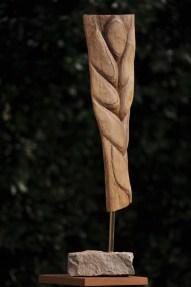 sculpture de blé - épi de blé - nature - art sacré - Dominique Rivaux
